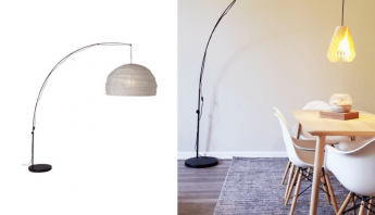 Balsa Turbine Shade for the REGOLIT floor lamp