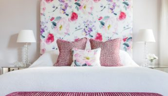 5 Ways to Work with Large Floral Prints on Upholstery