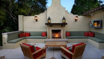 20 of the Coolest Outdoor Fireplaces