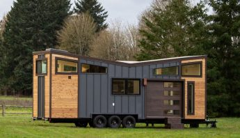 Buy this tiny house on wheels, and move whenever you want!