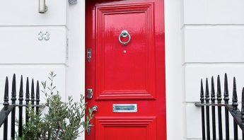 How to paint your front door – to create plenty of kerb appeal