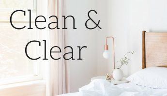How to Keep Your Space Clean & Clear // Habits for a Clean House