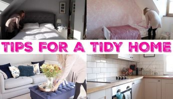 15 HABITS FOR A TIDY HOME | TIPS FOR A CLEAN HOME