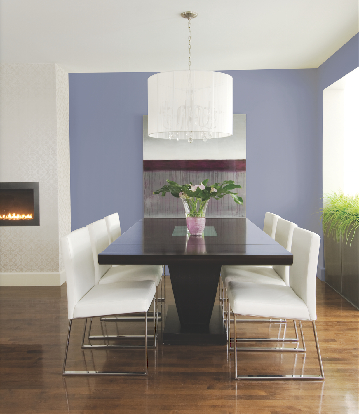 Simple Dining Room Color Ideas: 7 Easy Ways To Decorate With Lilac