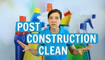 Post Construction Clean – Top Tips for 2017