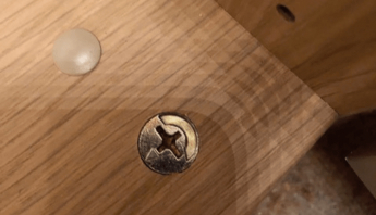 How to: Cover up unsightly cam nuts on IKEA furniture