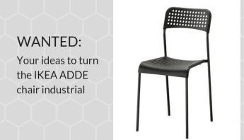 Ideas wanted: Help me turn IKEA ADDE into an Industrial Chair