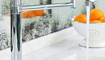 Everything you need to know about marble worktops, including Carrara marble